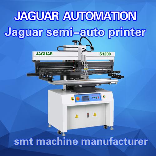 Led Smt Semi Auto Solder Paste Printer S1200