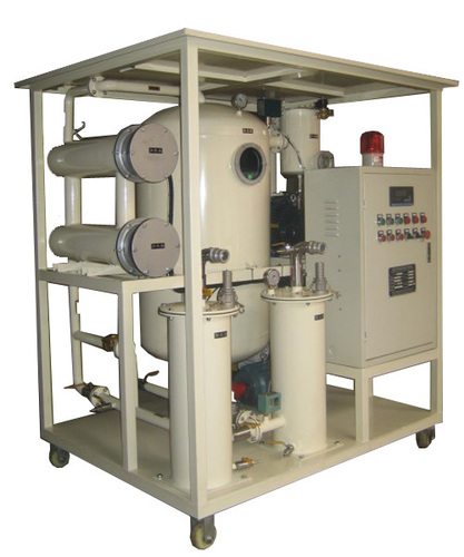 Two Stage High Vacuum Transformer Oil Filtration Machine in  Cangzhou Industrial Zone