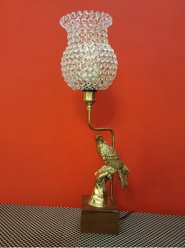 Eagle in Hand Electric Lamp