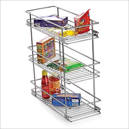 Three Shelf Pullout Kitchen Basket in   Dist.