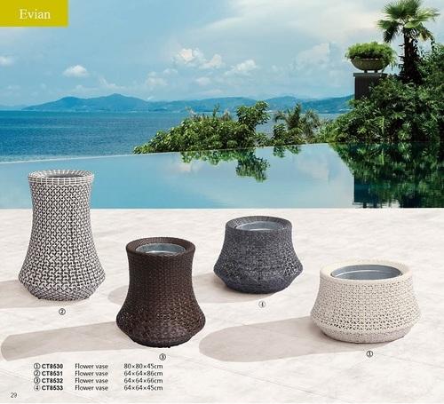 Evian Flower Pots