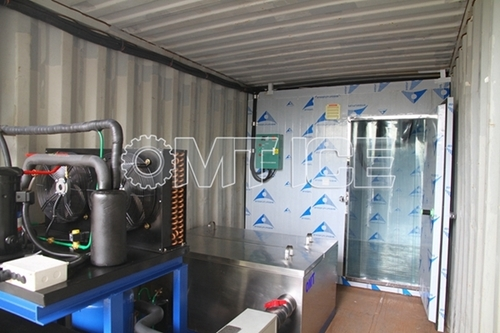 OMT 1Ton Containerized Block Ice Machine