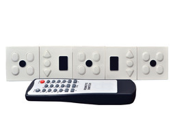 Remote Control Switch For 12 Light With 1 Led Night Light