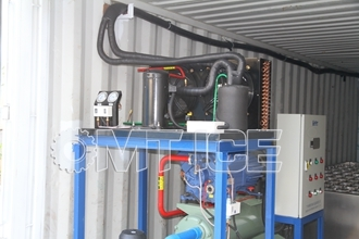 OMT 10Ton Containerized Ice Block Machine