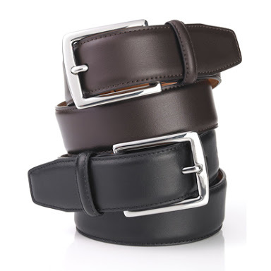 bf5258f10ff Pure Black And Brown Leather Belt - Ytr Leather Export Pvt. Ltd.