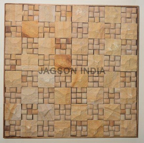 Teakwood Mosaic Tile