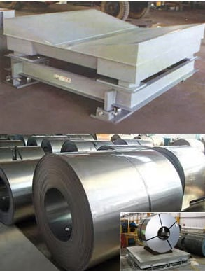 Steel Coil Weighing Scale