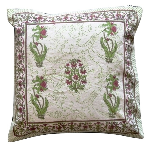 Cotton Hand Block Printed Cushion Covers