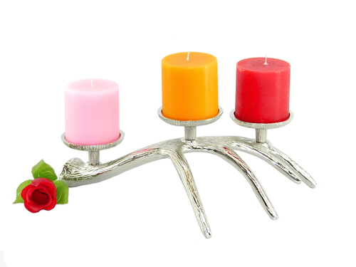 Aluminium Candle Holder in  New Area