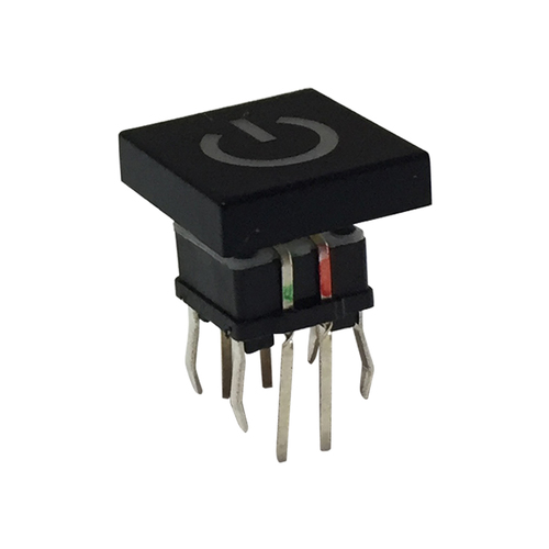 7.5mm Round Cap SMD Tactile Switches W/ LED