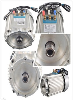 3kw 60v AC Motor For Electric Vehicle