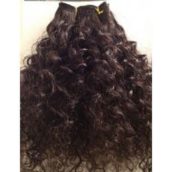 Single Donor Curly Hair