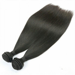 Non Remy Straight Hair in  Gamma