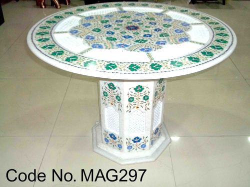 Swell Marble Inlay Coffee Table Top At Best Price In Agra Uttar Download Free Architecture Designs Scobabritishbridgeorg