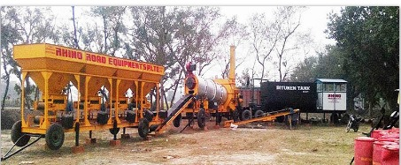 Mobile Drum Mix Plant in  New Area
