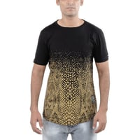 Serpent Scales Tall Curved T-Shirt