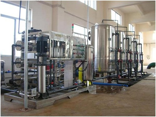 Industrial Mineral Water Treatment Plant