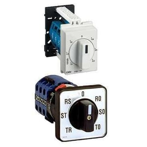 Panel And Din-Rail Mounted Modular Selector Switches