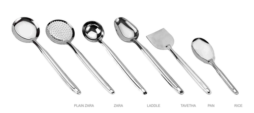 Stainless Steel Cooking Spoon Set