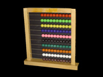 Wooden Educational Abacus Big