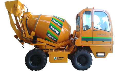 Self Loading Mixers in Pune, Maharashtra - SCHWING STETTER