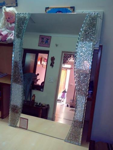50cf80d0180 Fancy Crinkle Mirror Glass - BK Glass House