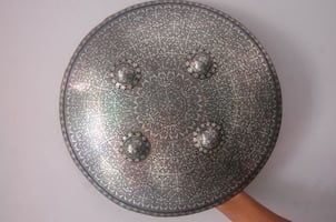 Handcrafted Silver Shields