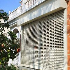 Industrial Grill Rolling Shutters