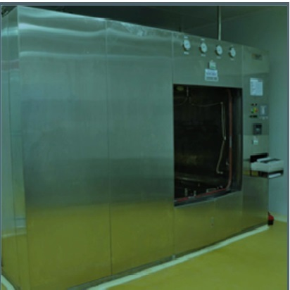 Horizontal Double Door (Sliding) Rectangular Sterilizer