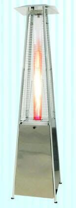 Outdoor Pyramid Tower Patio Gas Heater