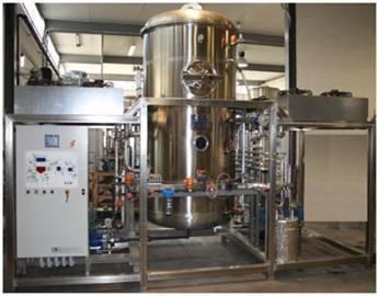 Low Maintenance Vacuum Evaporator
