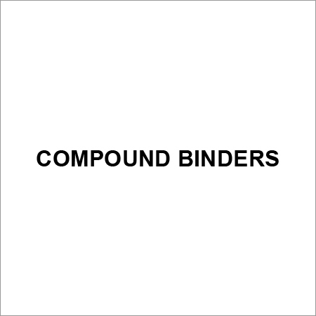 Compound Binders For Industrial Use