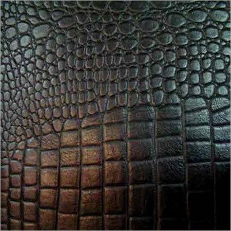 Crocodile Print Leather