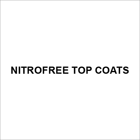 Nitrofree Top Coats For Industrial Use