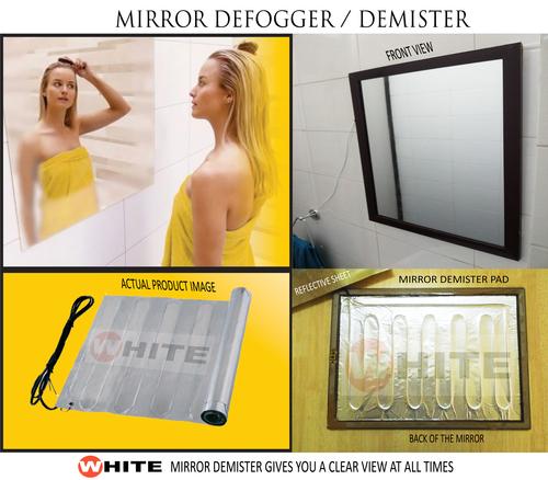 Demister Pad For Bathroom Mirror