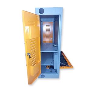 Grey Pc Cabinet For Smart Class