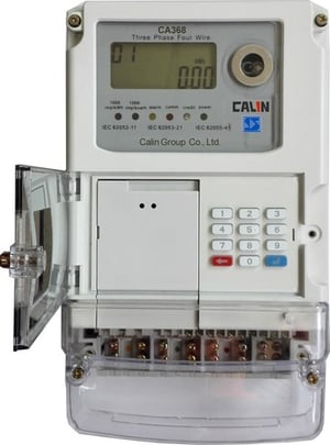 Three Phase STS Keypad Prepaid and Prepayment Meter with GPRS Module