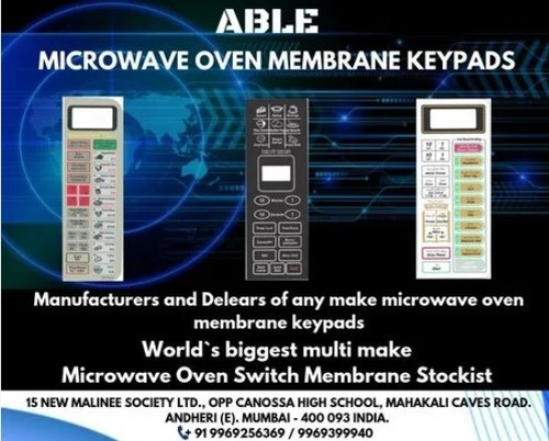 Microwave Oven Membrane Keypad At Best Price In Mumbai