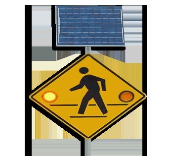 Solar Road Flashers