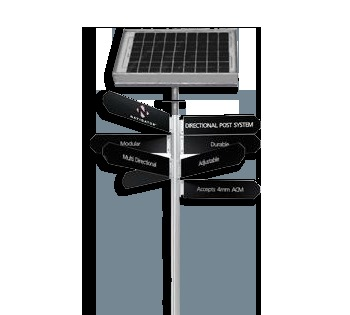 Weather Resistant Solar Signage