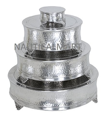Aluminum Round Cake Stand Set Of 4