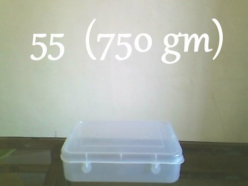 750gm Plastic Sweet Box