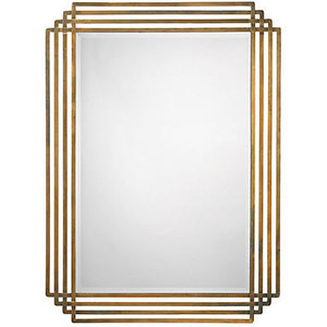 Decorative Brass Wall Mirror