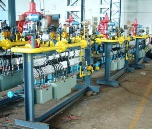 Gas Pressure Regulating Station