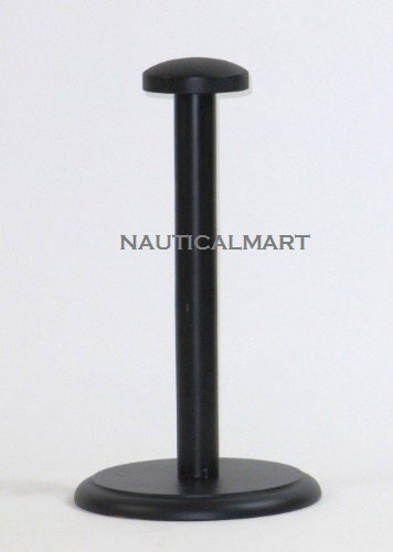 Black Helmet Stand