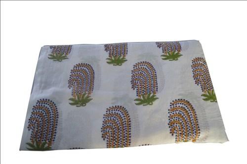 Color Fastness Hand Block Printed Cotton Fabrics