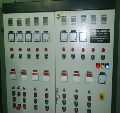 Fiber Spinning Machine Control Panel
