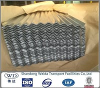 Galvanized Corrugated Steel Roofing Sheet Or Plate