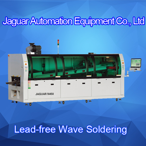Jaguar SMT Wave Soldering Machine For Insertion Solution Line