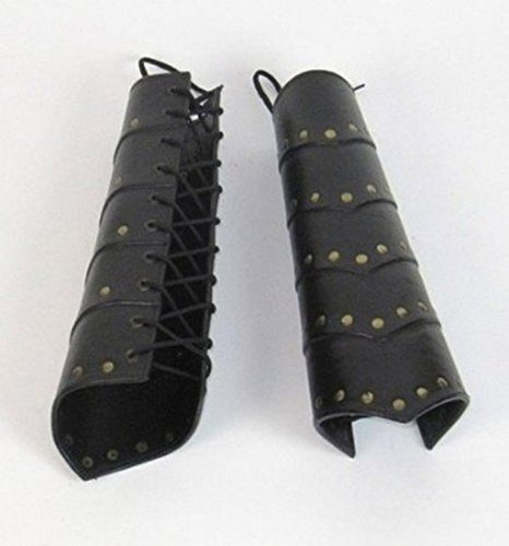 Medieval Leather Leg Guard
